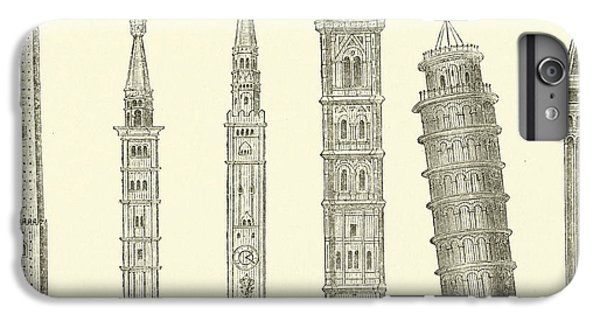 Cross iPhone 8 Plus Case - The Seven Great Towers by English School