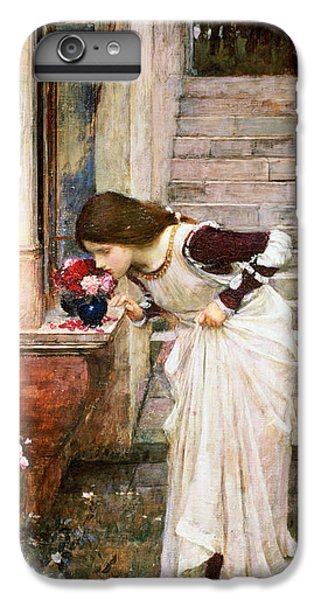 Rose iPhone 8 Plus Case - The Shrine by John William Waterhouse