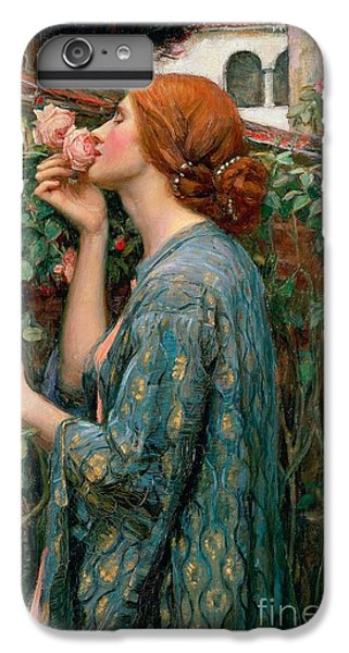 Rose iPhone 8 Plus Case - The Soul Of The Rose by John William Waterhouse