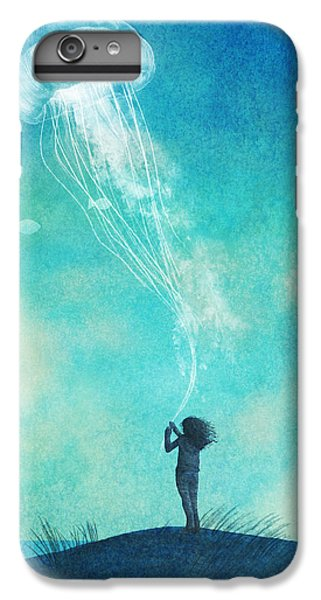 Animals iPhone 8 Plus Case - The Thing About Jellyfish by Eric Fan