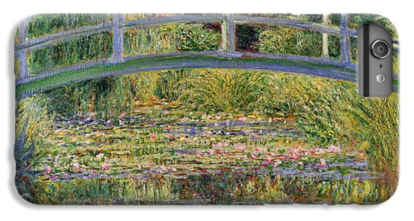 Lily iPhone 8 Plus Case - The Waterlily Pond With The Japanese Bridge by Claude Monet