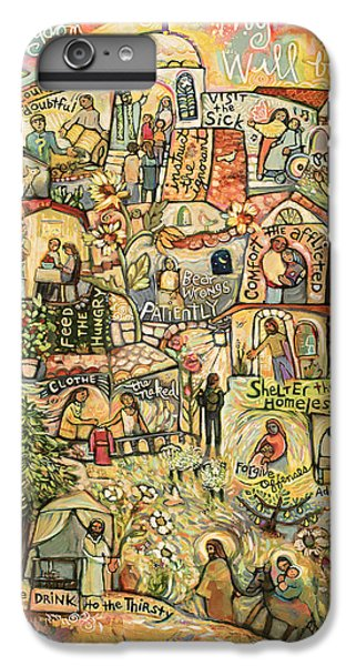 For iPhone 8 Plus Case - The Works Of Mercy by Jen Norton