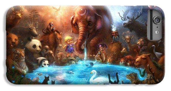 Fantasy iPhone 8 Plus Case - Thirst For Life by Alex Ruiz