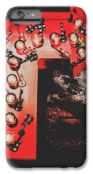 Rock And Roll iPhone 8 Plus Case - This Way To Rock City by Jorgo Photography - Wall Art Gallery