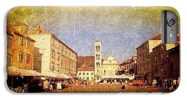 iPhone 8 Plus Case - Town Square #edit - #hvar, #croatia by Alan Khalfin