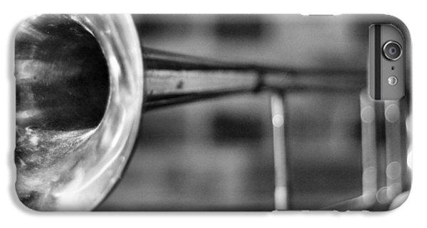 Trombone iPhone 8 Plus Case - Trombone by David  Hubbs