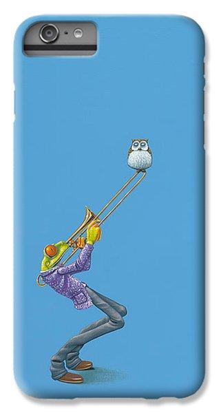 Trombone iPhone 8 Plus Case - Trombone by Jasper Oostland