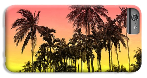 Contemporary iPhone 8 Plus Case - Tropical 9 by Mark Ashkenazi