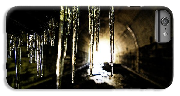 Dungeon iPhone 8 Plus Case - Tunnel Icicles by Pelo Blanco Photo