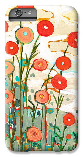 Red iPhone 8 Plus Case - Under The Desert Sky by Jennifer Lommers