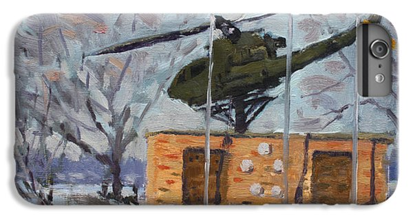 Helicopter iPhone 8 Plus Case - Veterans Memorial Park In Tonawanda by Ylli Haruni