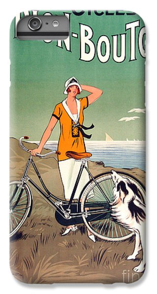 Bicycle iPhone 8 Plus Case - Vintage Bicycle Advertising by Mindy Sommers