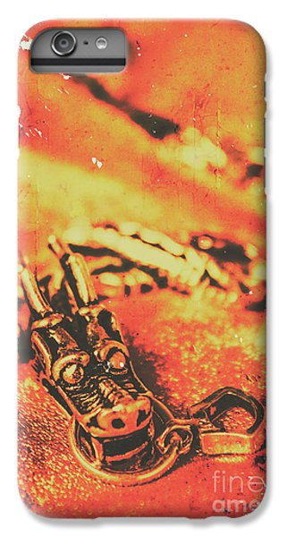 Dragon iPhone 8 Plus Case - Vintage Dragon Charm by Jorgo Photography - Wall Art Gallery