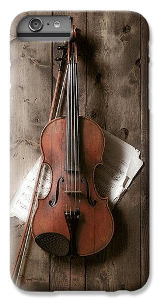 Violin iPhone 8 Plus Case - Violin by Garry Gay
