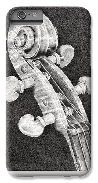 Violin iPhone 8 Plus Case - Violin Scroll by Remrov