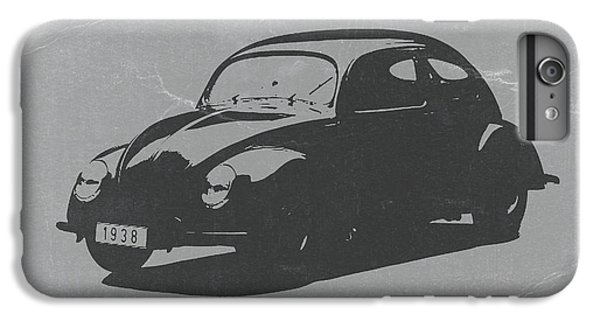 Car iPhone 8 Plus Case - Vw Beetle by Naxart Studio
