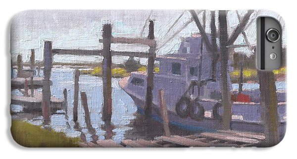 Shrimp Boats iPhone 8 Plus Case - Watch Your Step by Todd Baxter