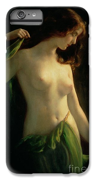 Nudes iPhone 8 Plus Case - Water Nymph by Otto Theodor Gustav Lingner