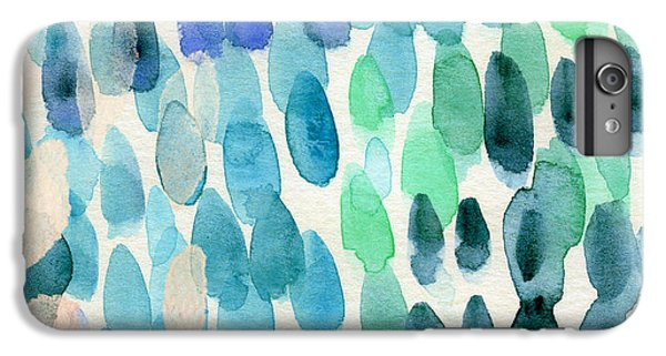 For iPhone 8 Plus Case - Waterfall 2- Abstract Art By Linda Woods by Linda Woods