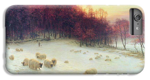 Sheep iPhone 8 Plus Case - When The West With Evening Glows by Joseph Farquharson