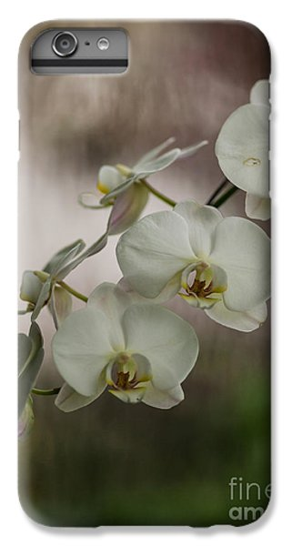 Orchid iPhone 8 Plus Case - White Of The Evening by Mike Reid
