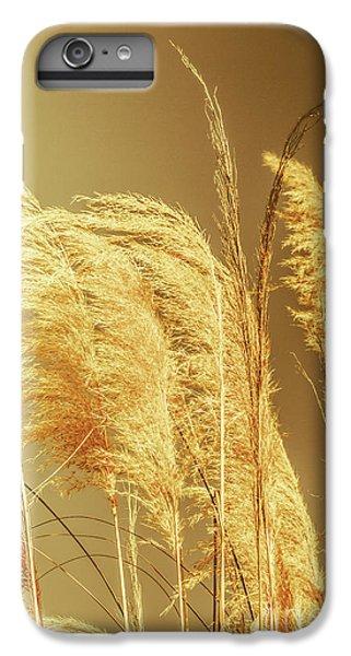 Shrub iPhone 8 Plus Case - Windswept Autumn Brush Grass by Jorgo Photography - Wall Art Gallery