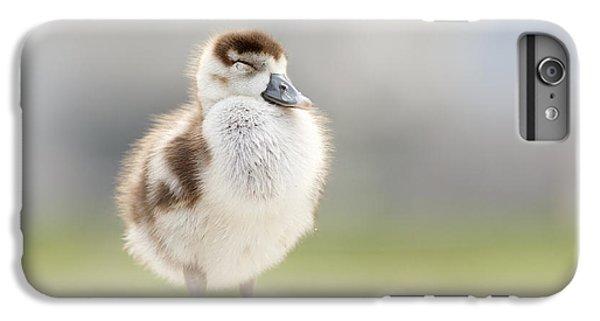 Gosling iPhone 8 Plus Case - Zen Gosling by Roeselien Raimond
