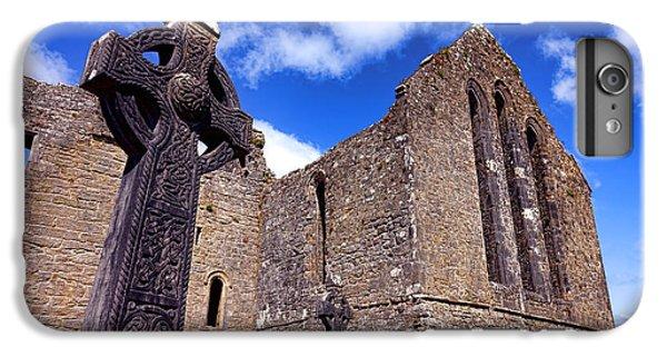 Celtic Cross iPhone 8 Plus Case - Celtic Cross At Cong Abbey  by Olivier Le Queinec
