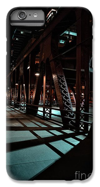 Chicago River iPhone 8 Plus Case - Across The Bridge by Bruno Passigatti