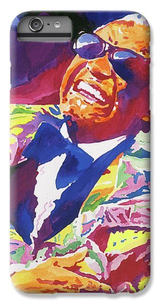Rhythm And Blues iPhone 8 Plus Case - Brother Ray Charles by David Lloyd Glover
