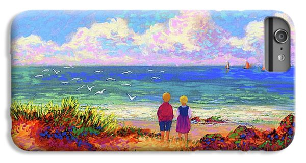 Sand iPhone 8 Plus Case - Children Of The Sea by Jane Small