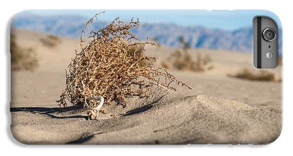 Shrub iPhone 8 Plus Case - Dead Sagebrush Lies On Sand In Desert by Kenkistler