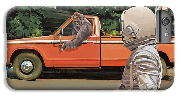 Truck iPhone 8 Plus Case - Decline Of The Planet Of The Apes by Scott Listfield