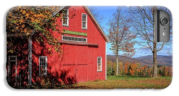 New England Barn iPhone 8 Plus Case - Deerefield Farm Grafton New Hampshire by Edward Fielding