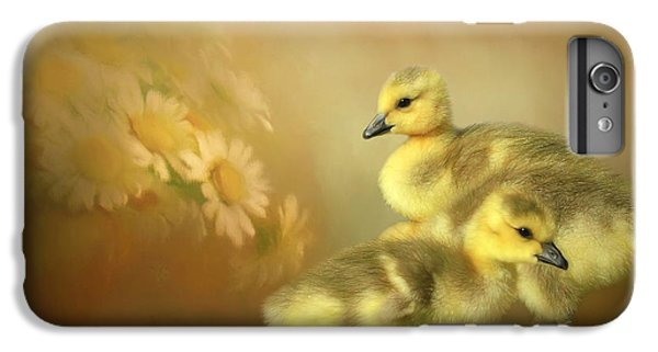 Gosling iPhone 8 Plus Case - Goslings And Daisies by Donna Kennedy