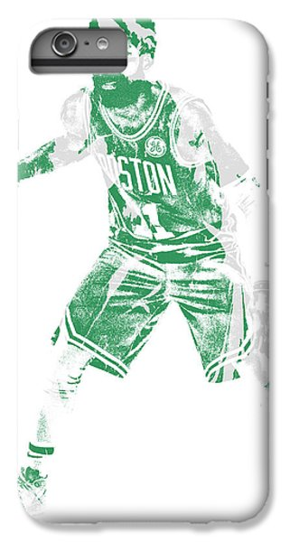Celtic Cross iPhone 8 Plus Case - Kyrie Irving Boston Celtics Pixel Art 72 by Joe Hamilton