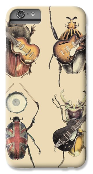 The iPhone 8 Plus Case - Meet The Beetles by Eric Fan