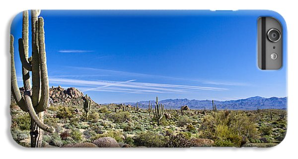 Shrub iPhone 8 Plus Case - Sonoran Desert Landscape In Scottsdale by Tom Roche
