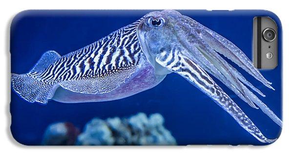 Scuba Diving iPhone 8 Plus Case - The Common European Cuttlefish Sepia by David Litman