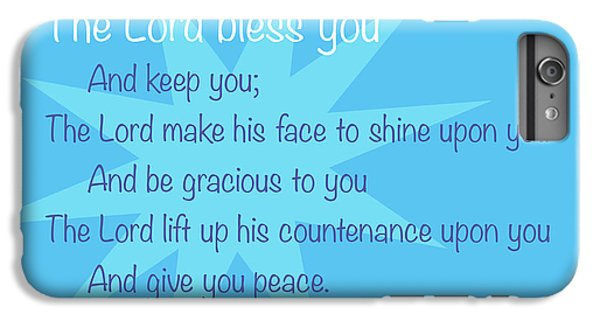 Lord iPhone 8 Plus Case - The Lord Bless You by Greg Joens