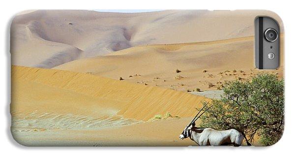 Shrub iPhone 8 Plus Case - Wandering Dune Of Sossuvlei In Namibia by Damian Ryszawy
