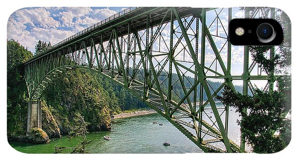 Whidbey iPhone XR Case - Deception Pass by Spencer McDonald