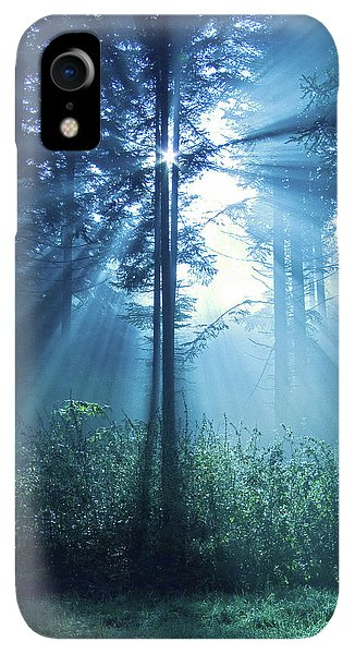 Spirituality iPhone XR Case - Magical Light by Daniel Csoka