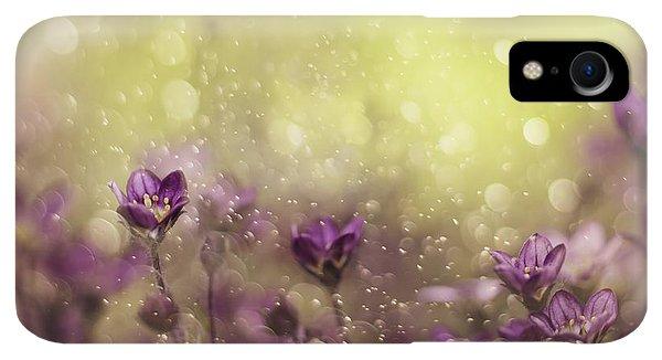 Violet iPhone XR Case - Purple Dream by Delphine Devos