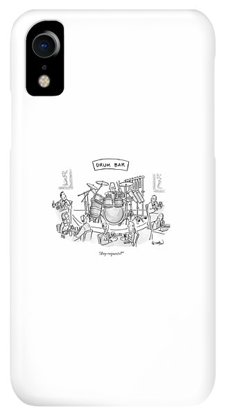 Bar iPhone XR Case - Any Requests? by Robert Leighton