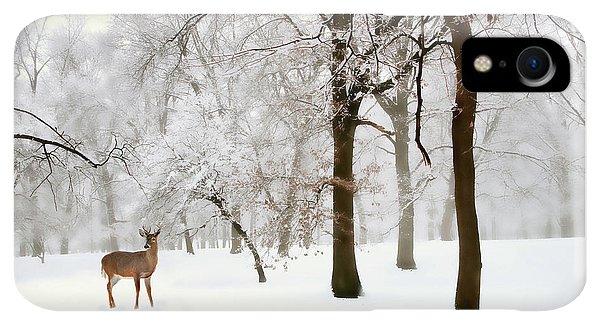 Winter iPhone XR Case - Winter's Breath by Jessica Jenney