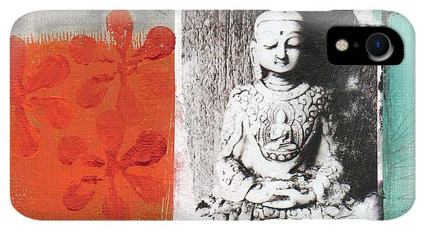 Spirituality iPhone XR Case - Namaste by Linda Woods