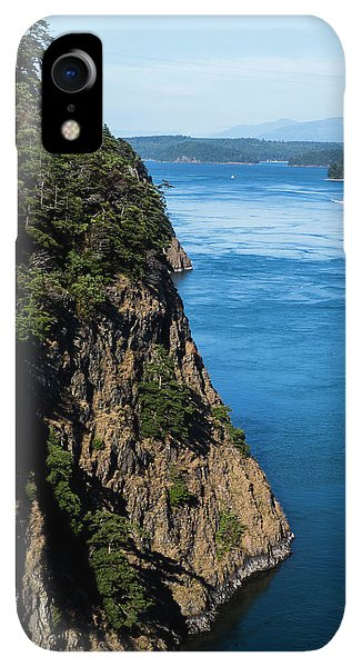 Whidbey iPhone XR Case - A Beautiful Landscape At Deception Pass by Michael Hanson