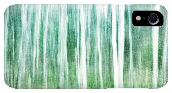 Winter iPhone XR Case - A Matter Of Blues by Priska Wettstein