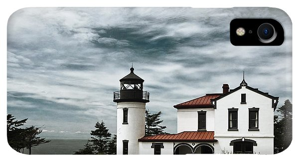 Whidbey iPhone XR Case - Admiralty Head Lighthouse by Joan Carroll
